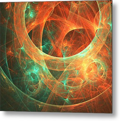 Within Metal Print by Lourry Legarde