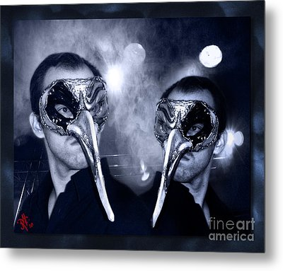 Without Hiding - Almost Tao Metal Print by Rosa Cobos