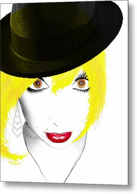 Woman 13 Metal Print by Cheryl Young