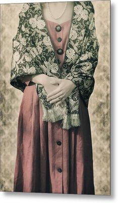 Woman With Shawl Metal Print by Joana Kruse