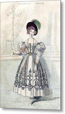 Womens Fashion, 1833 Metal Print by Granger
