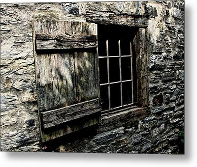 Wood And Stone Metal Print by Julie Williams