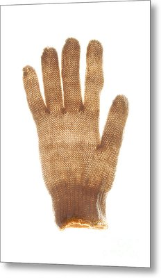 Woolen Glove Metal Print by Bernard Jaubert