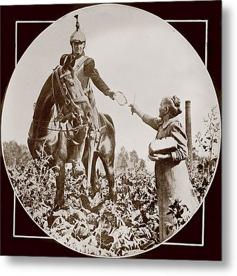 World War I, Bread For A French Soldier Metal Print by Everett