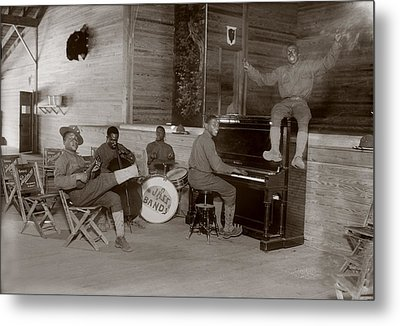 World War I, U.s. Army Jazz Band, Circa Metal Print by Everett
