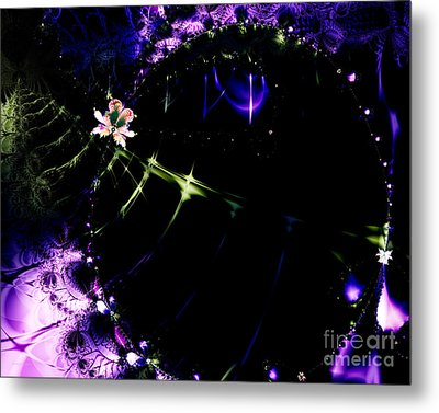 Wormhole Beyond . S4a.s10 Metal Print by Wingsdomain Art and Photography