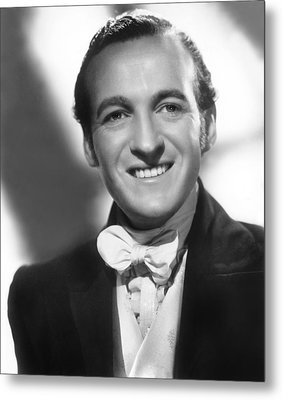 Wuthering Heights, David Niven, 1939 Metal Print by Everett