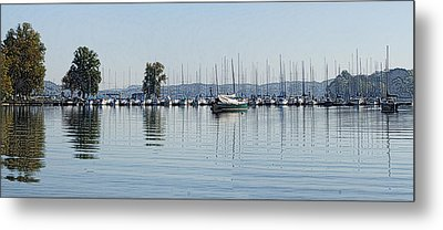 Yacht Club Metal Print by Bill Kennedy