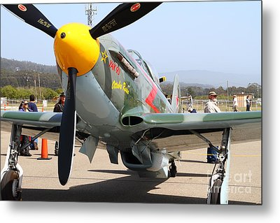 Yak 9u Airplane . 7d15807 Metal Print by Wingsdomain Art and Photography