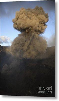 Yasur Eruption, Tanna Island, Vanuatu Metal Print by Martin Rietze