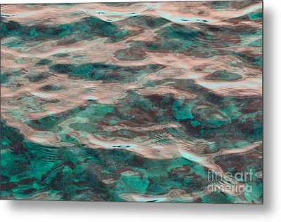 Yellowstone Abstract Metal Print by Cindy Lee Longhini
