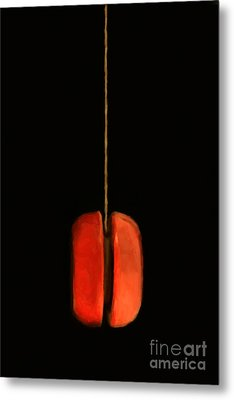 Yo-yo - Painterly Metal Print by Wingsdomain Art and Photography