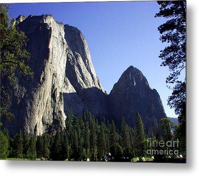 Yosemite Park El Capitan  Metal Print by The Kepharts