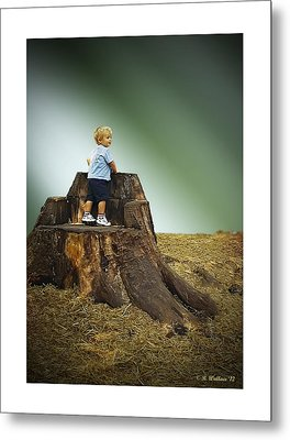Young Boy Metal Print by Brian Wallace