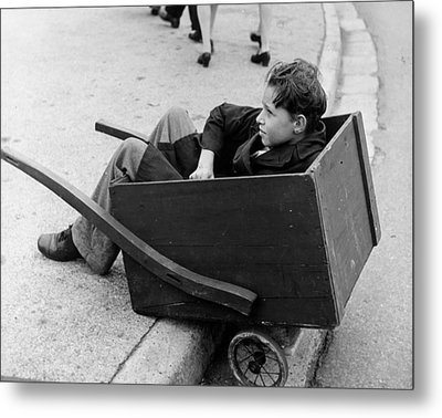 Young Porter Metal Print by Three Lions