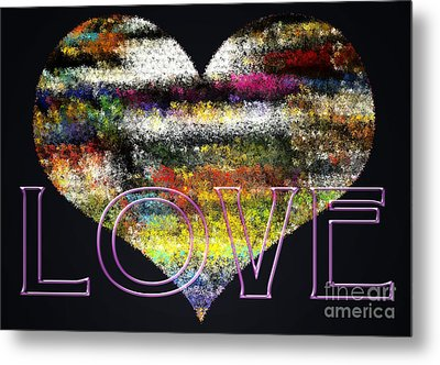 Your Heart Is My Pinata Metal Print by Gwyn Newcombe