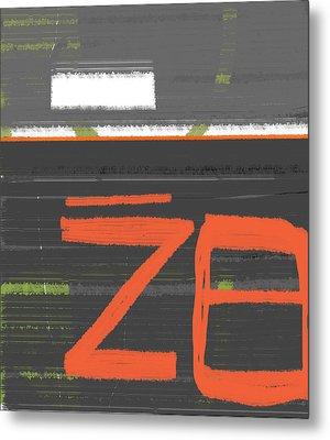 Z8 Metal Print by Naxart Studio