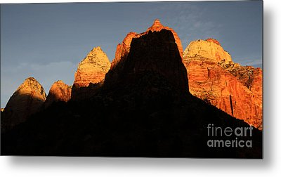Zion The Great Wall Metal Print by Bob Christopher