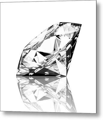Diamond Metal Print by Setsiri Silapasuwanchai