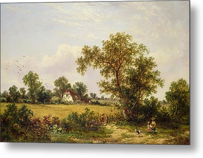 Essex Landscape  Metal Print by James Edwin Meadows