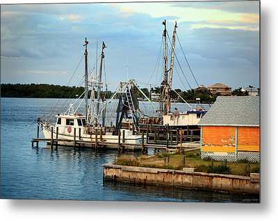 Matlacha Florida Metal Print by Joseph G Holland
