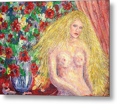Nude Fantasy Metal Print by Natalie Holland