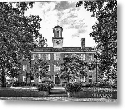 Ohio University Cutler Hall Metal Print by University Icons