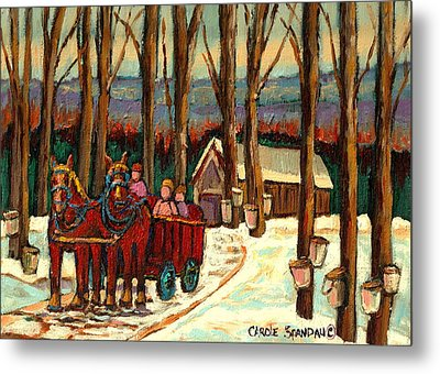 Sugar Shack Metal Print by Carole Spandau