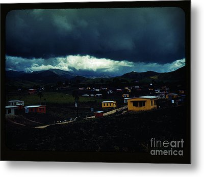 The Town Of Yauco Metal Print by Celestial Images