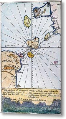 Traces Of Atlantis Metal Print by Granger