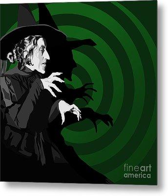 009. Destroy My Beautiful Wickedness Metal Print by Tam Hazlewood