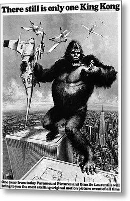 King Kong, 1976 Metal Print by Granger