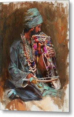 023 Sindh B Metal Print by Mahnoor Shah