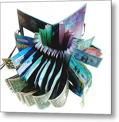 36 Ways To Lose Money Metal Print by Annie Alexander