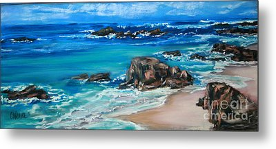 A Distant Shore Metal Print by Cathy Weaver