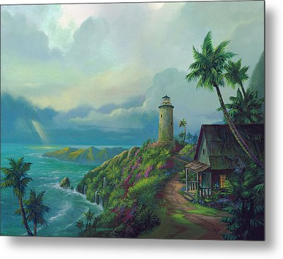 A Small Patch Of Heaven Metal Print by Michael Humphries