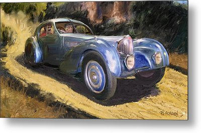 A Sunday Drive In Tuscany Metal Print by RG McMahon