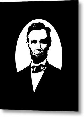 Abraham Lincoln Metal Print by War Is Hell Store