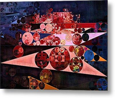 Abstract Painting - Eruption Metal Print by Vitaliy Gladkiy