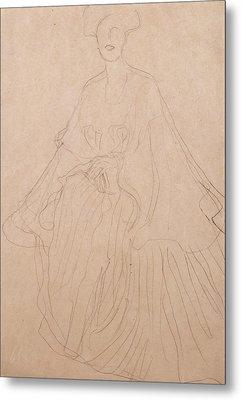Adele Bloch Bauer Metal Print by Gustav Klimt