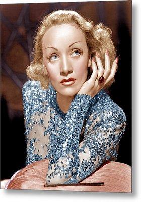 Angel, Marlene Dietrich, 1937 Metal Print by Everett