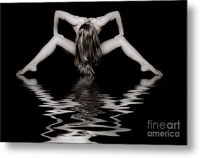 Art Of A Woman Metal Print by Jt PhotoDesign