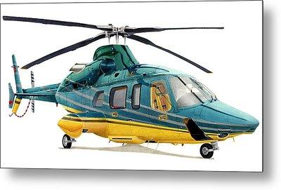 Bell 430 Metal Print by Lyle Brown