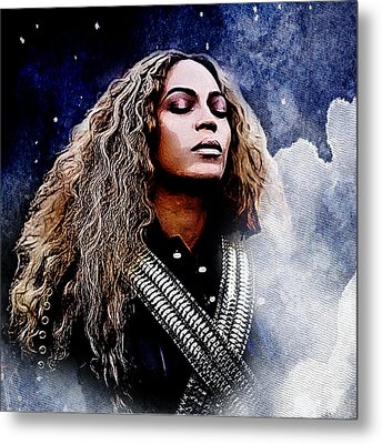 Beyonce  Metal Print by The DigArtisT