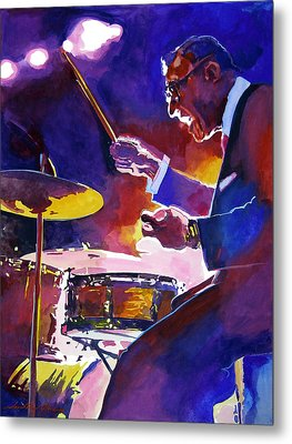 Big Band Ray Metal Print by David Lloyd Glover