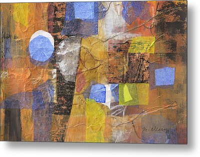 Blended Fragments Metal Print by Melody Cleary