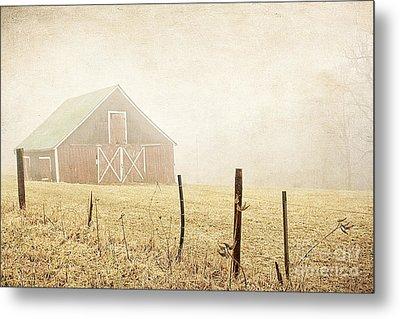 Blue Ridge Farm Metal Print by Darren Fisher