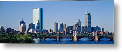 Boston, Massachusetts, Usa Metal Print by Panoramic Images