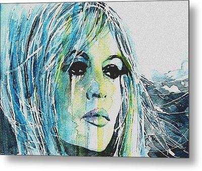 Brigitte Bardot Metal Print by Paul Lovering