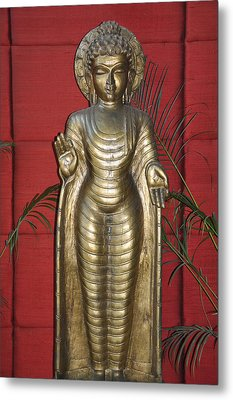 Buddha 1 Metal Print by Vijay Sharon Govender